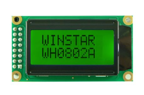 WH0802A-YYH-JT# | WINSTAR - TFT & LCD & LED DİSPLAYLER
