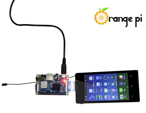 ORANGE PI 2G LCD TOUCH